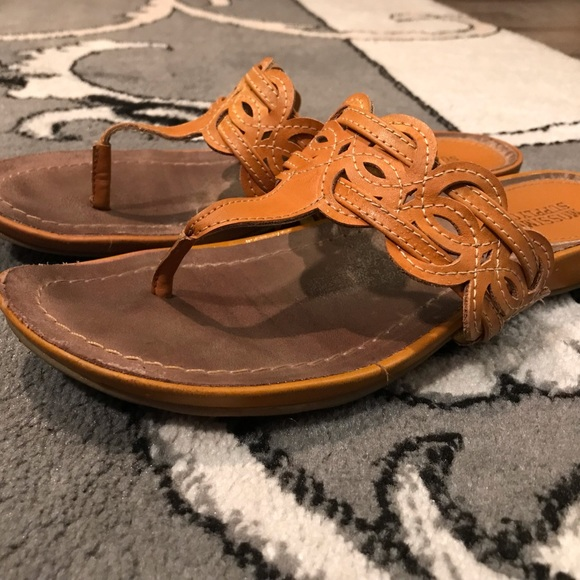 Mossimo Supply Co. Shoes - Yellow thong style sandal